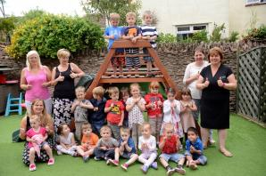 North Petherton nursery celebrates 'outstanding' Ofsted