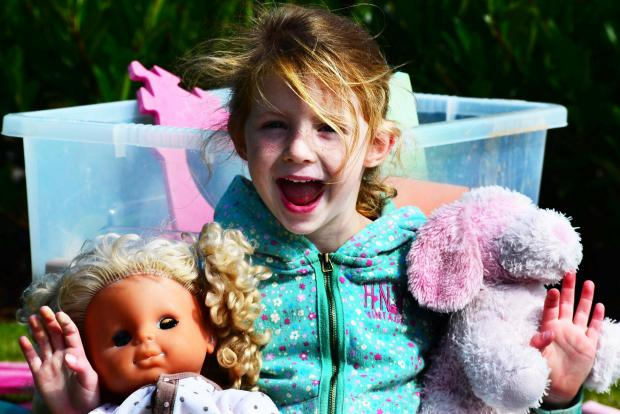 Teddy bears enjoy picnic at Walled gardens of Cannington: PICTURES