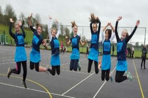 NETBALL: Bridgwater under-14s jumping for joy after perfect tournament record