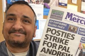 Victory for Bridgwater postal workers as dismissed postman with MS is reinstated after strike