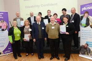 Brent Knoll business and Bridgwater man win awards at Disability Confident event